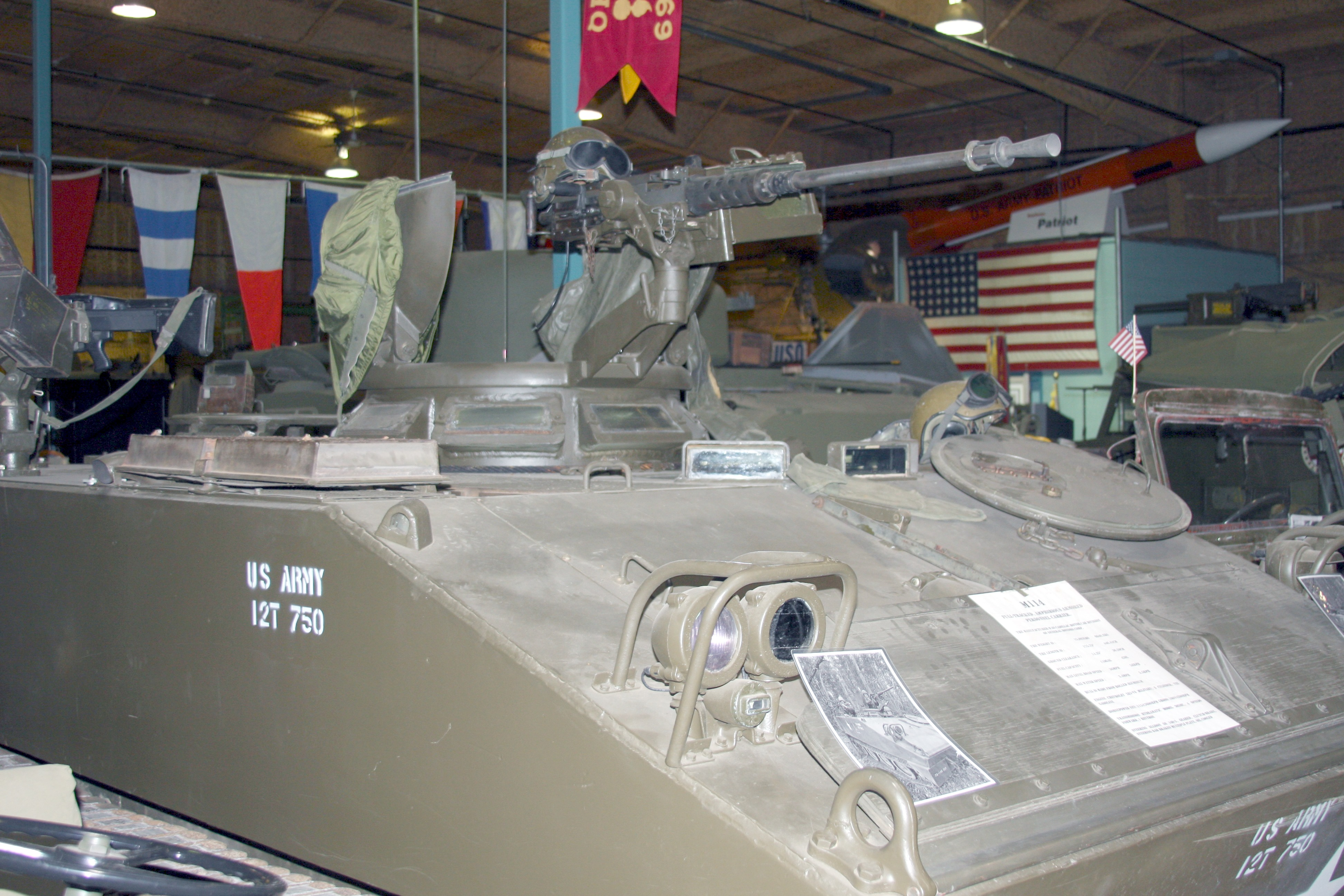 M114 Armored Personnel Carrier