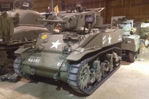 1943 M5A1 Stuart Tank
