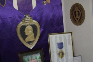 The Purple Heart Display