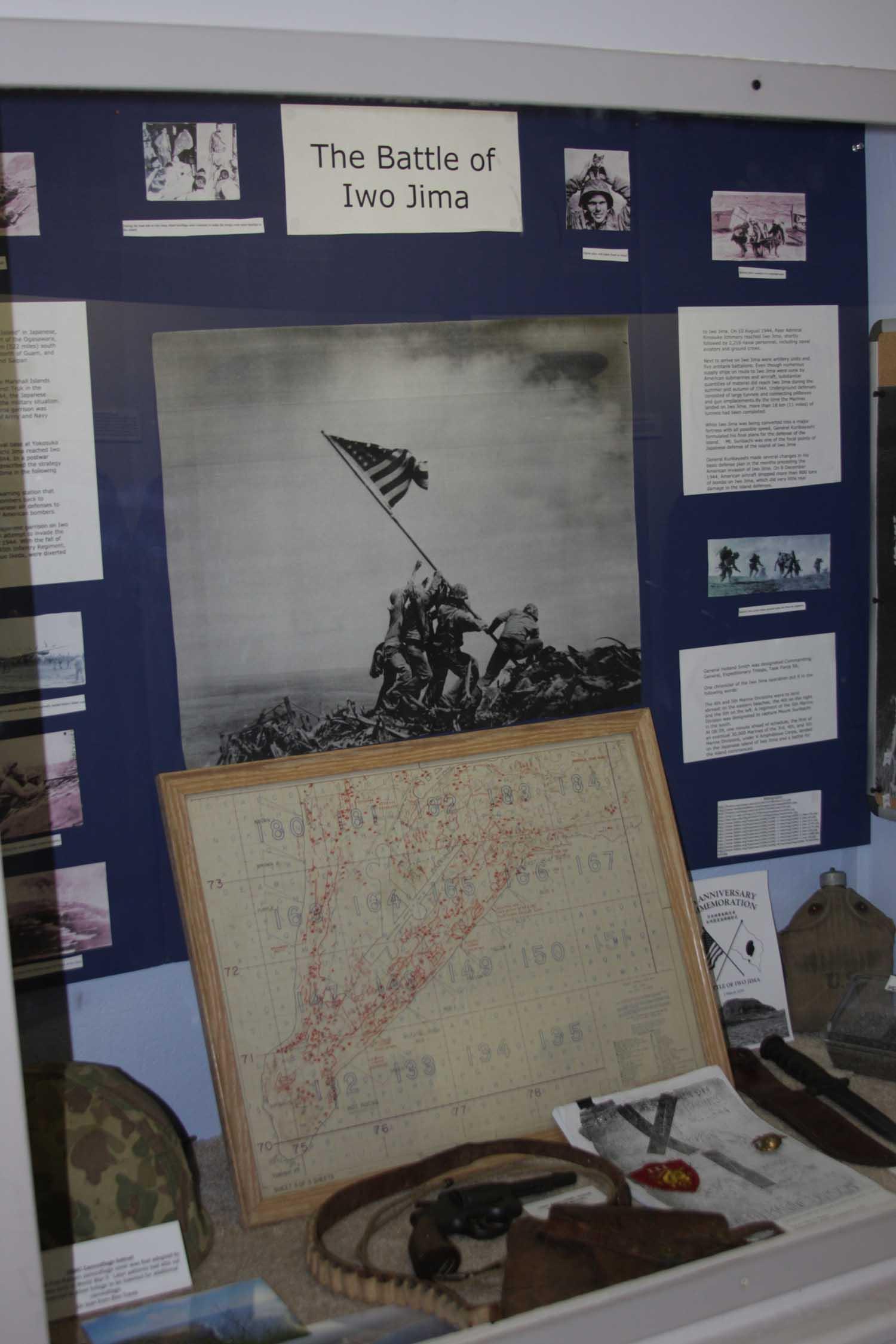 Iwo Jima Display