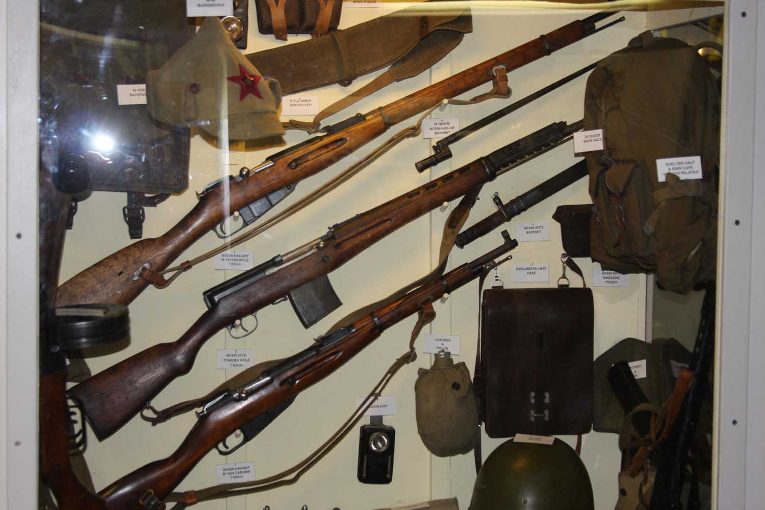 Russian Weapons Display