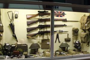 British Weapons Display