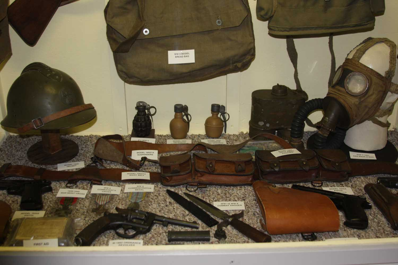 Italian Weapons Display