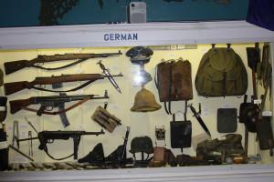 German Weapons Display