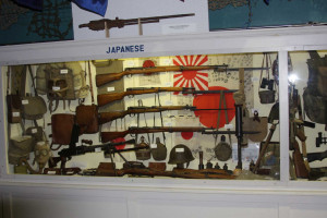 Japanese Weapons Display