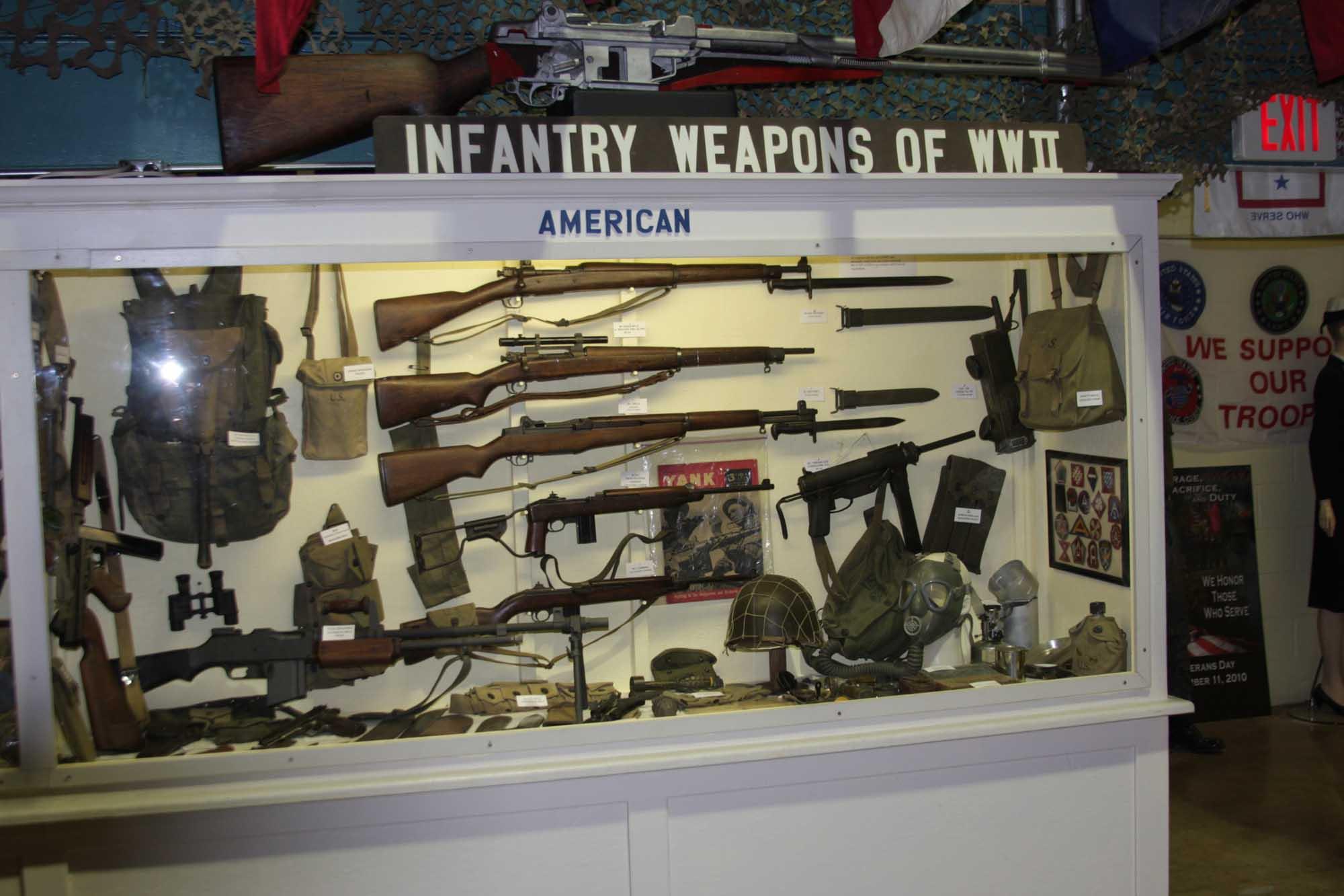 American Weapons Display