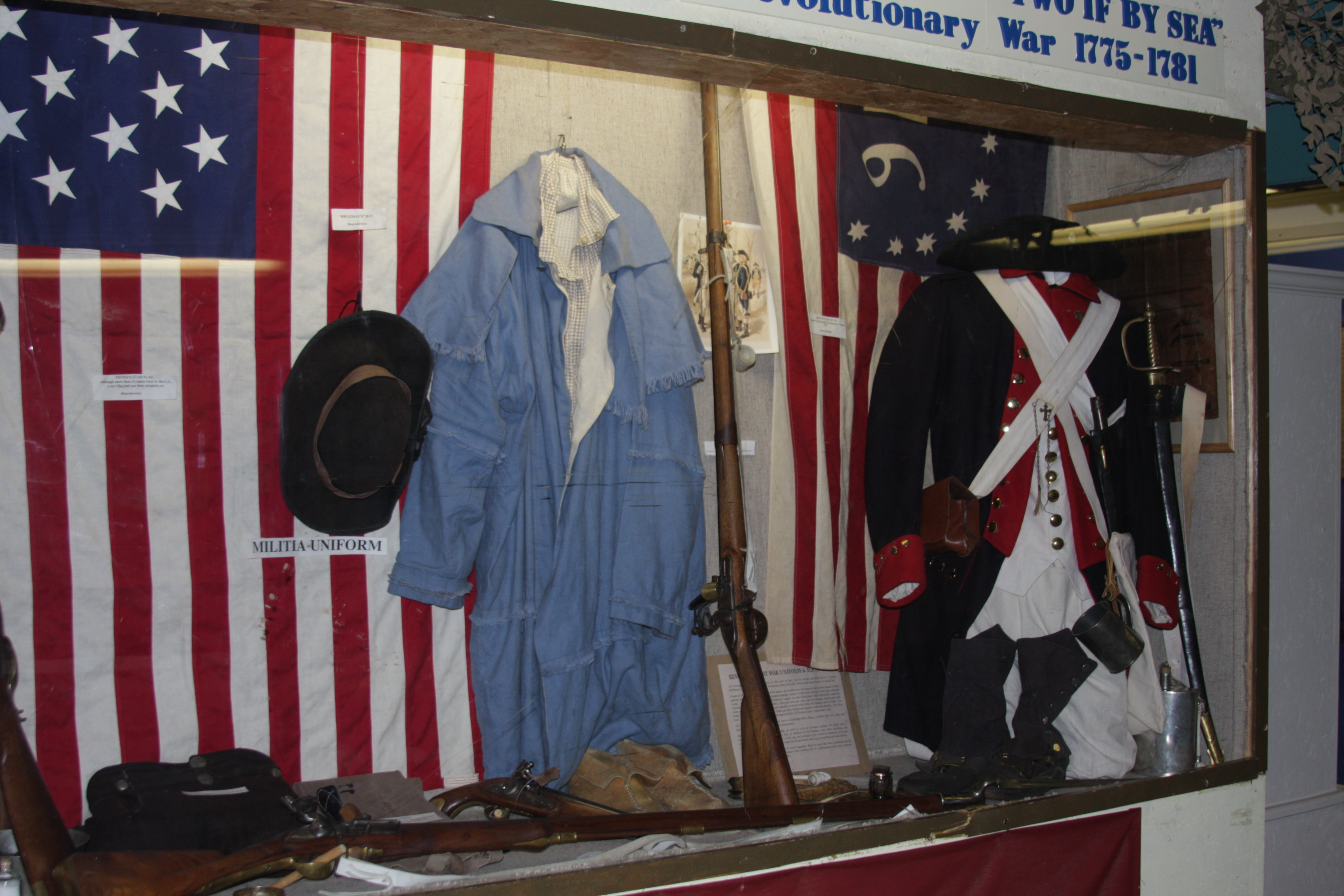 The Revolutionary War Display