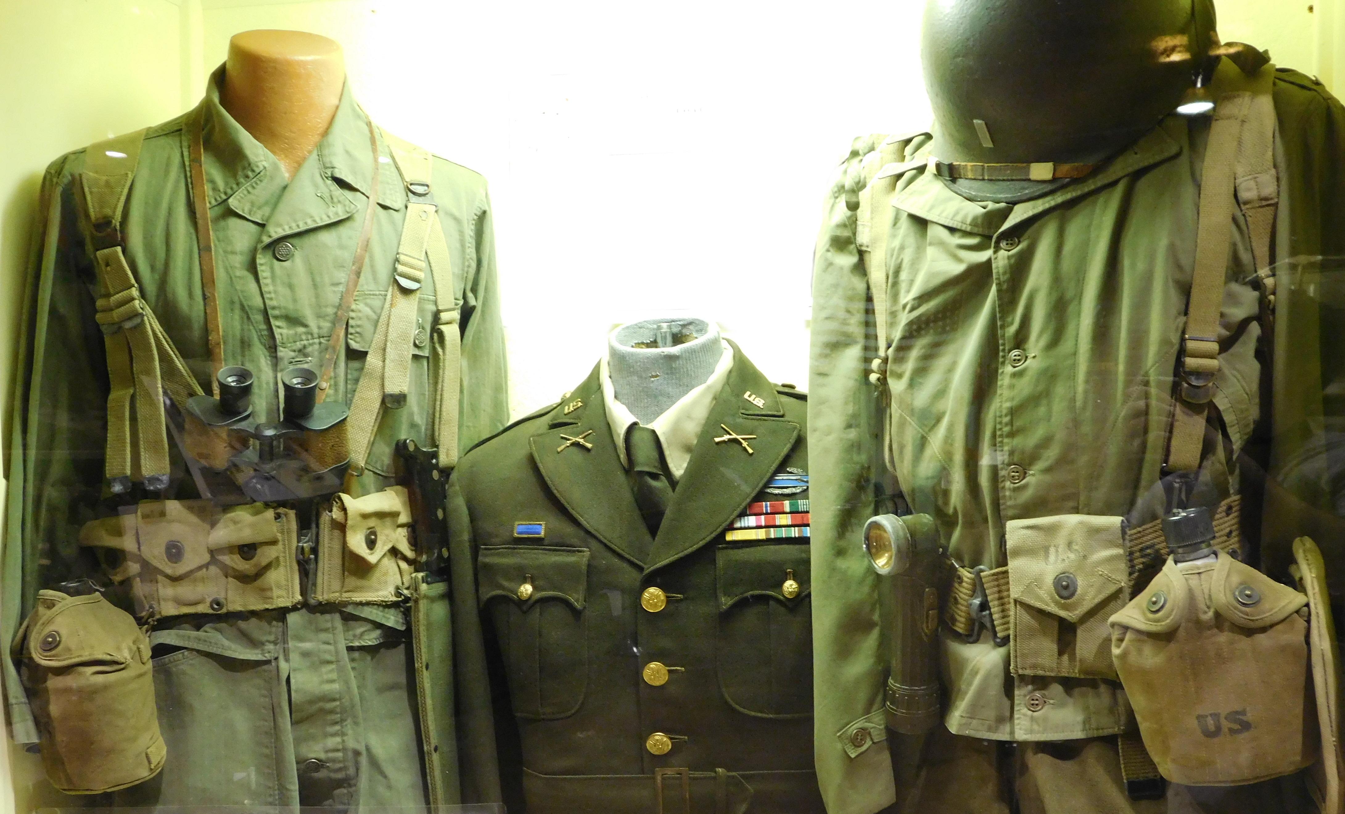 World War II.Uniforms