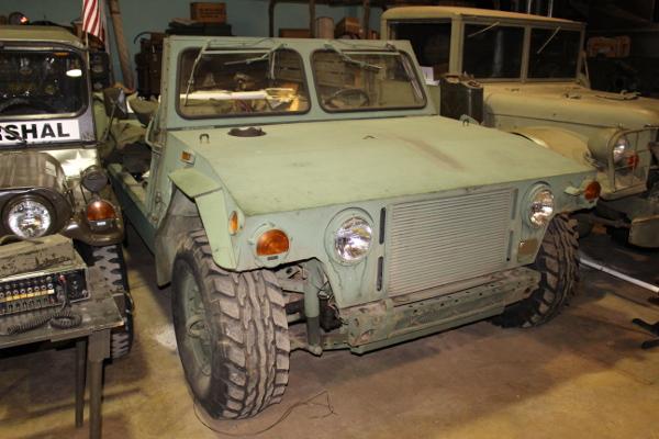 HMMWV Prototype