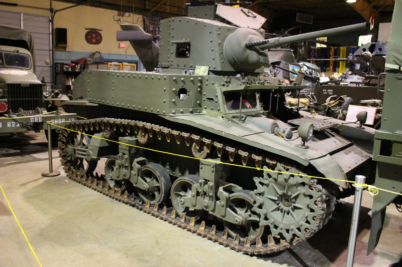 M3 Stuart Light Tank
