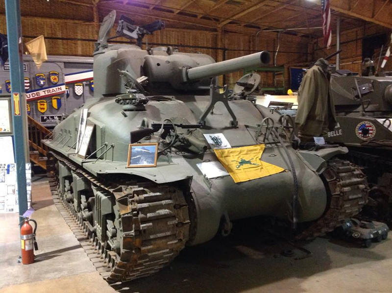 M42B1 Sherman Flamethrower Tank