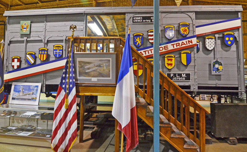 Merci Train 40 & 8 Boxcar