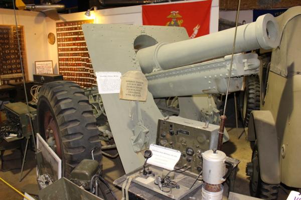 155 mm MLE 1918 Howitzer