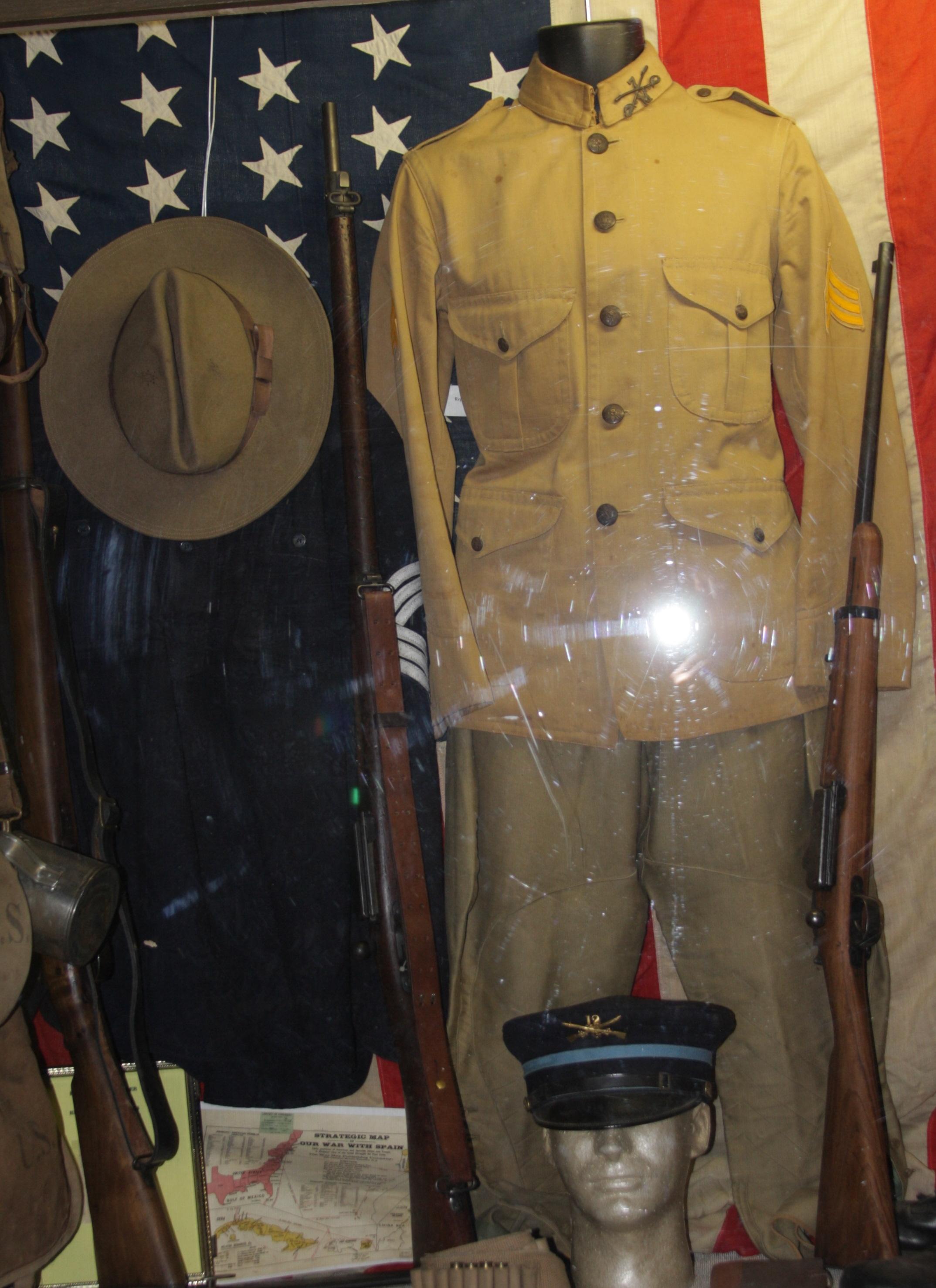 Spanish American War Display