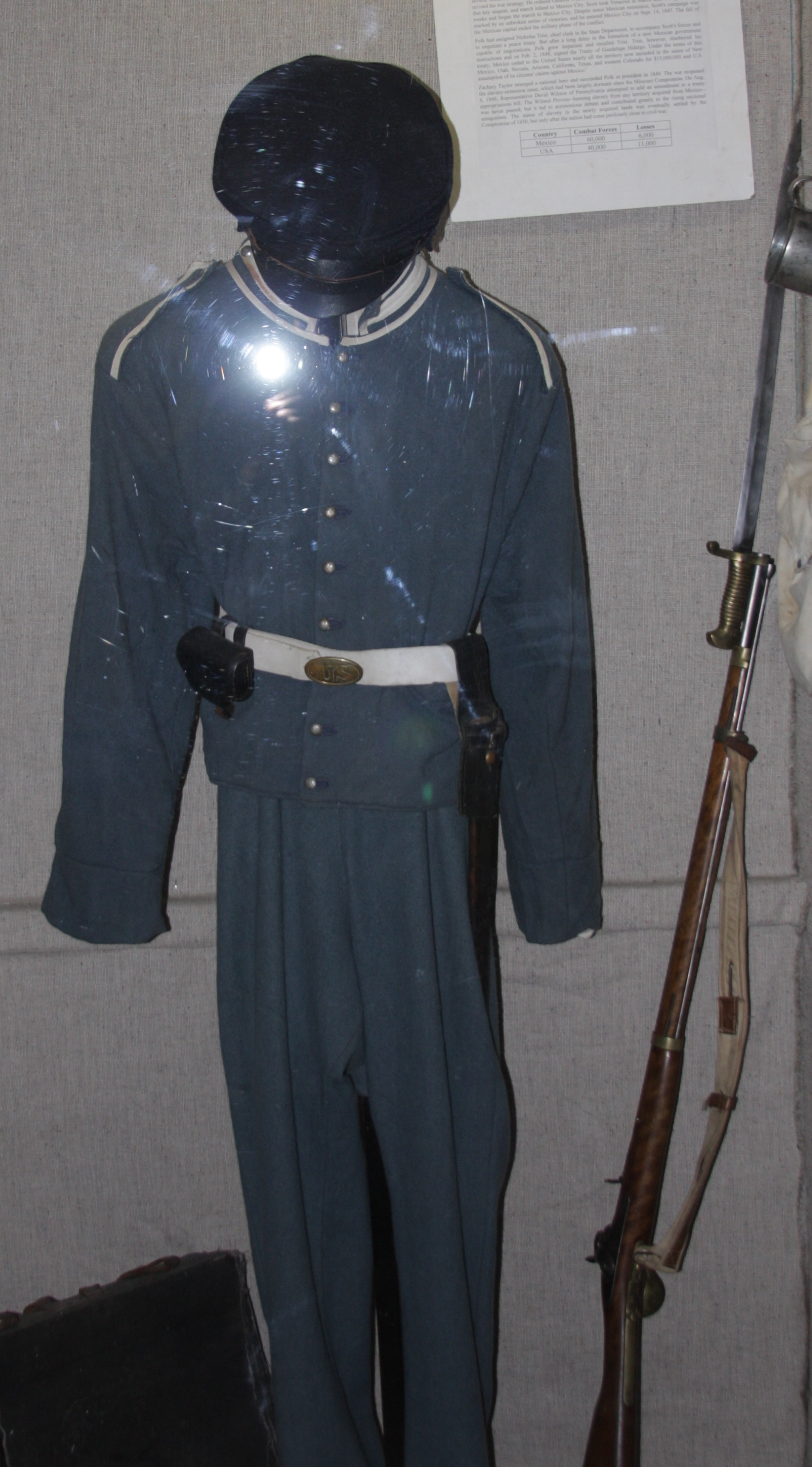 The Mexican War Display