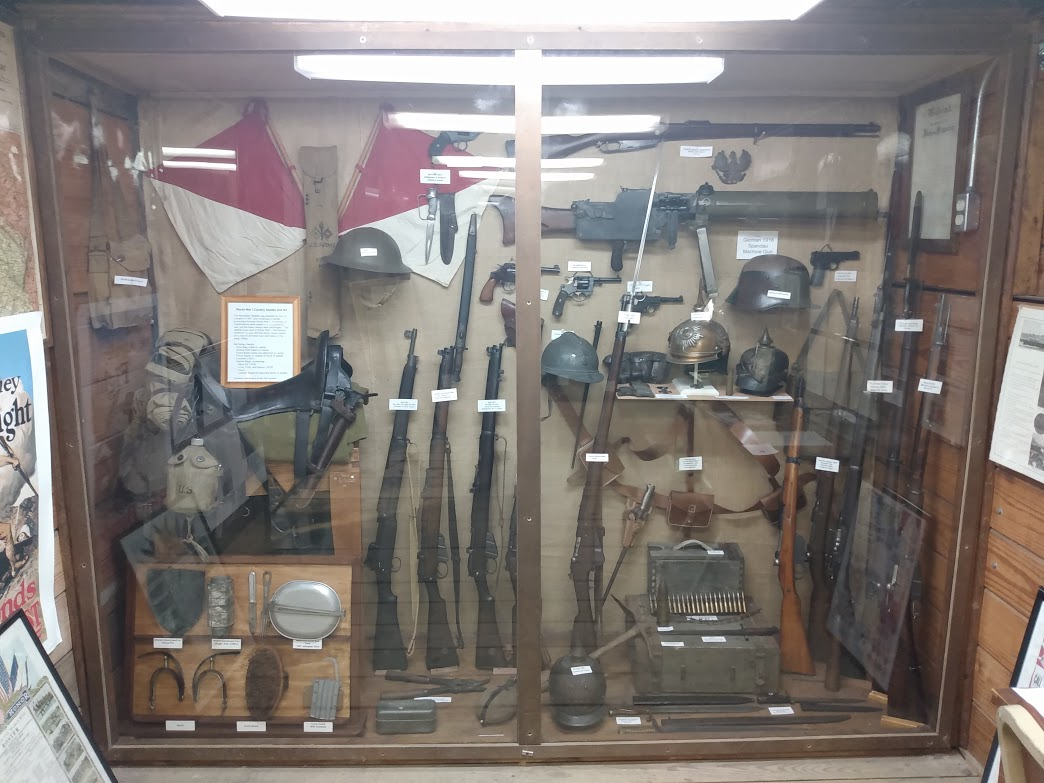 World War One Weapons Left Display