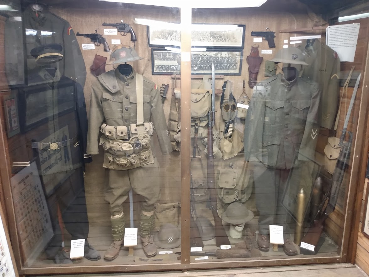 World War One Weapons Right Display